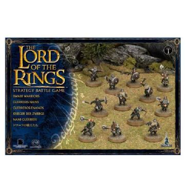 Games Workshop Warhammer The Lord Of The Rings Dwarf Warriors 05-11